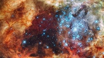 Hubble Star-Forming Region